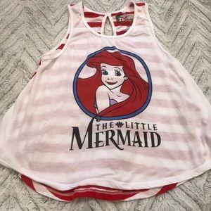 Disney The Little Mermaid Tank - Size Medium